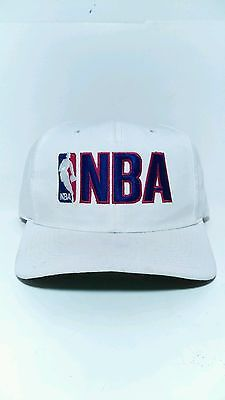 Vintage nba sports specialties white big nba logo adj mens vtg 90 s ... c947300fb60d