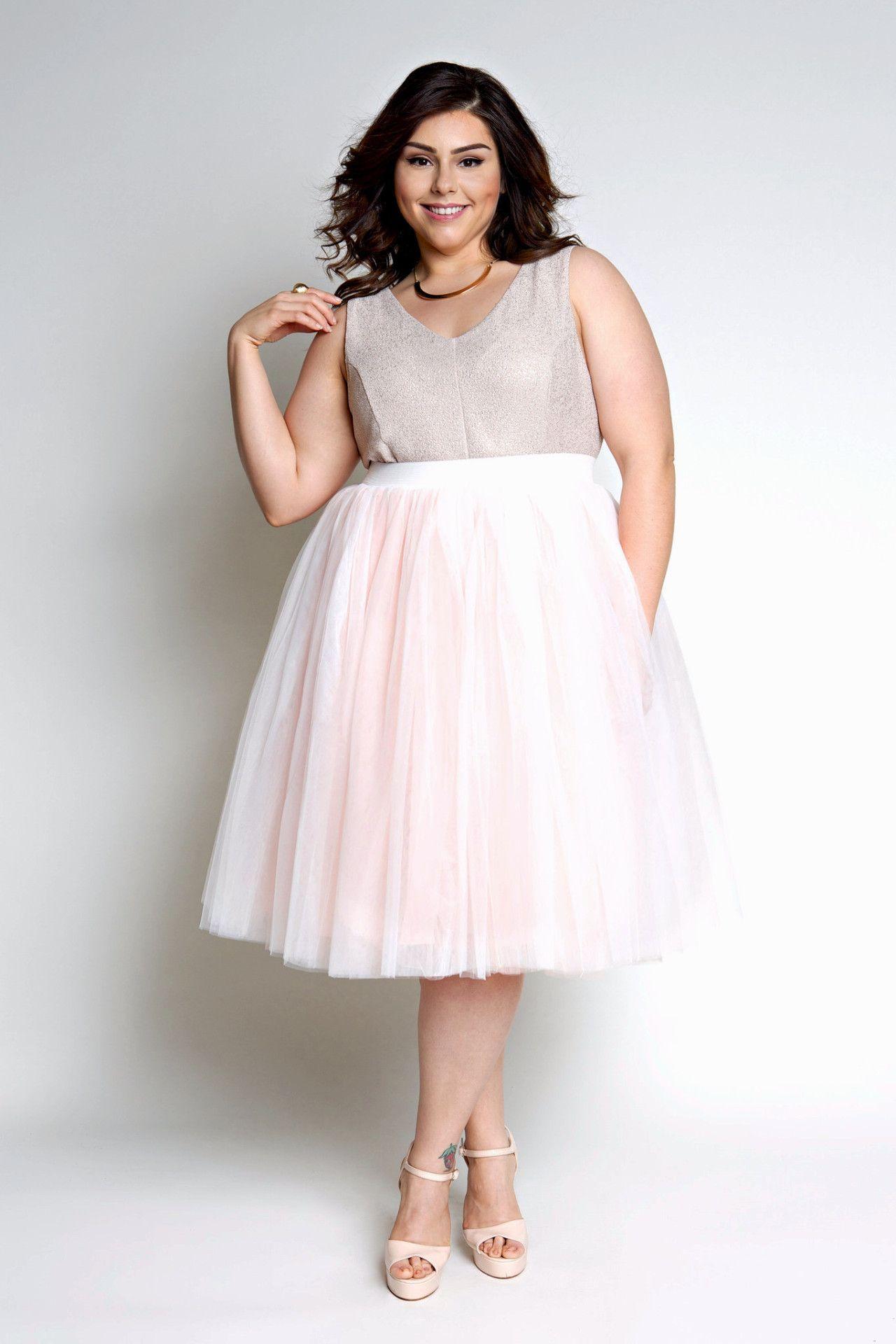 fecdd362 Plus Size Clothing for Women - Society+ Premium Tutu - Blush - Society+ - Society  Plus - Buy Online Now! - 3