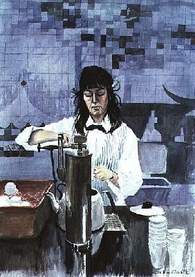 Cooke, John  : Cafeteria Girl