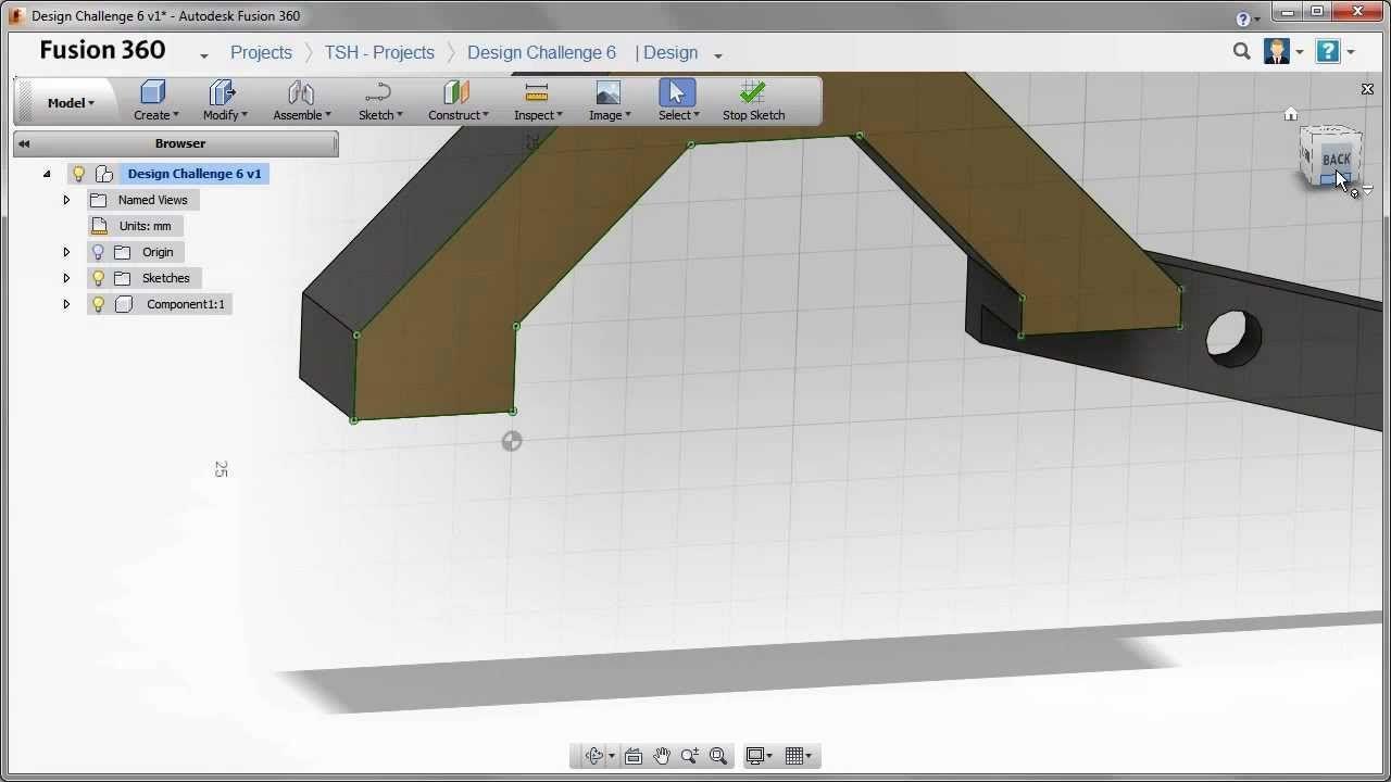 Design Challenge 6 - Autodesk Fusion 360 | Fusion 360