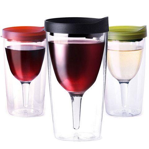 cd2c359d3b7 Vino2Go The Portable Wine Glass   Design   Pinterest