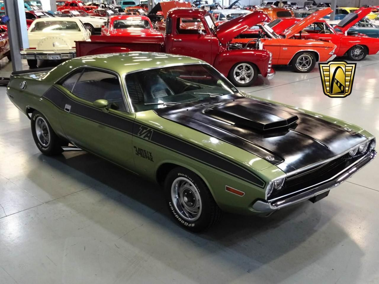 For sale in our Orlando, Florida showroom is a Green 1970 Dodge ...