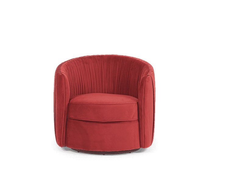 Enjoyable Sarah Red Velvet Swivel Chair Accent Chairs In 2019 Theyellowbook Wood Chair Design Ideas Theyellowbookinfo