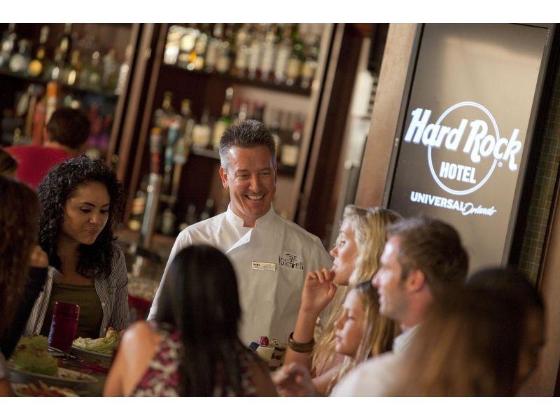 The Kitchen at Hardrock Cafe