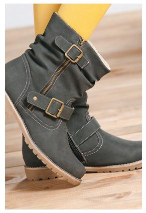 Botines La Polar | Fashion | Zapatos, Botas y Polaroid