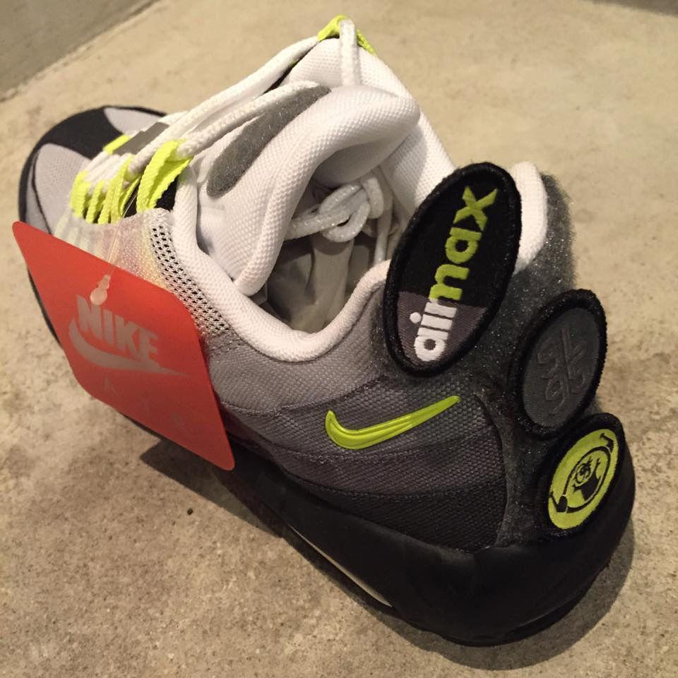 89be7e27b602a Nike Air Max 95 Patch   Shoes   Nike air max, Air max, Nike