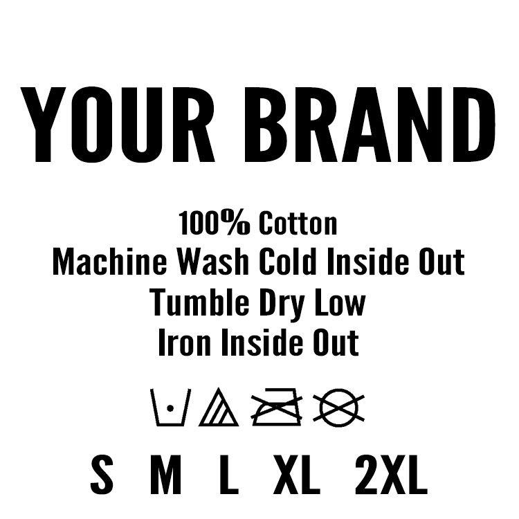 Tag Label Template Printing Labels T Shirt Label Label Templates