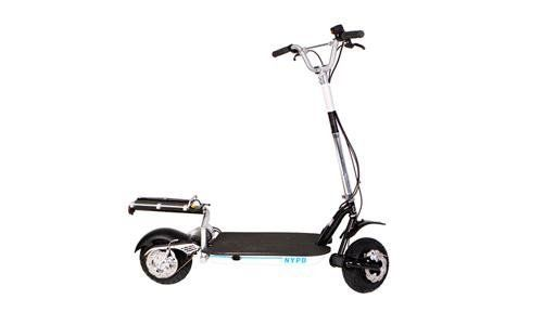 Goped Portable Patrol Vehicle Electic Scooter Black Large By
