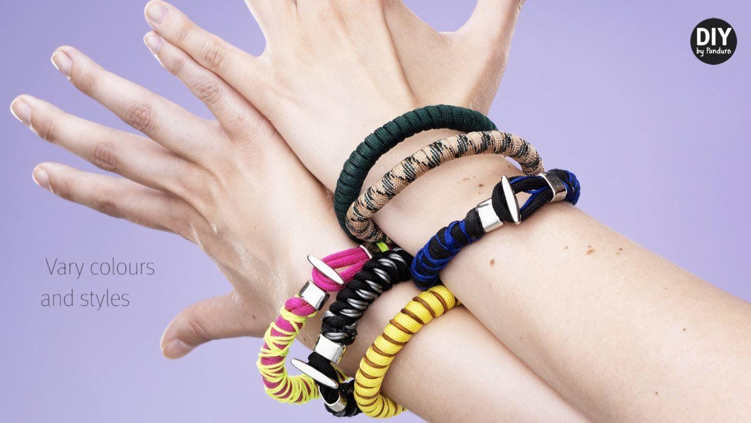 DIY by Panduro: LoopDeDoo Bracelets | Knot bracelets | Pinterest