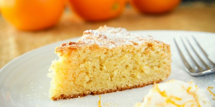 Vegan Orange And Almond Cake