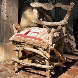 Tutoriel : un fauteuil de jardin en bois flotté   plantes ...
