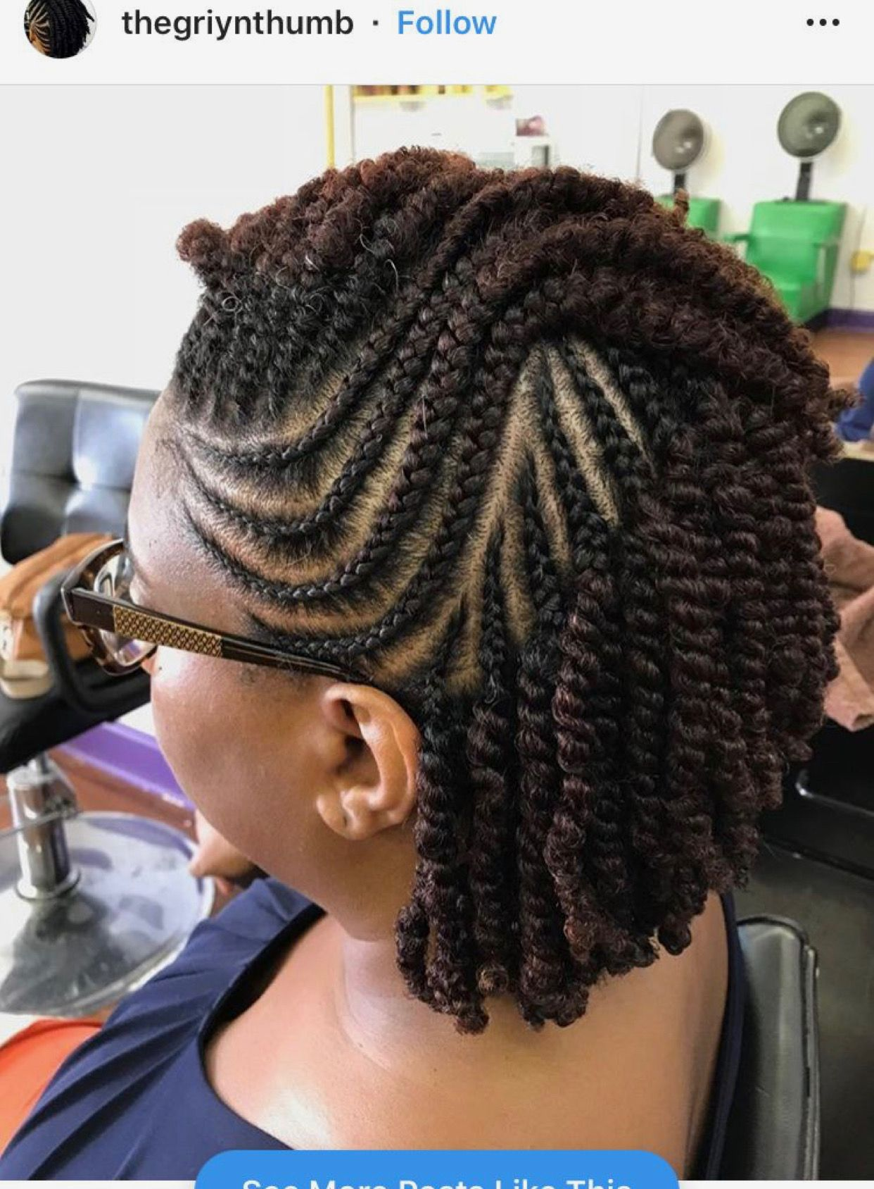 Pin By Cynthia Cayol On Black Hair Natural Hair Twists Hair Twist Styles Twist Hairstyles