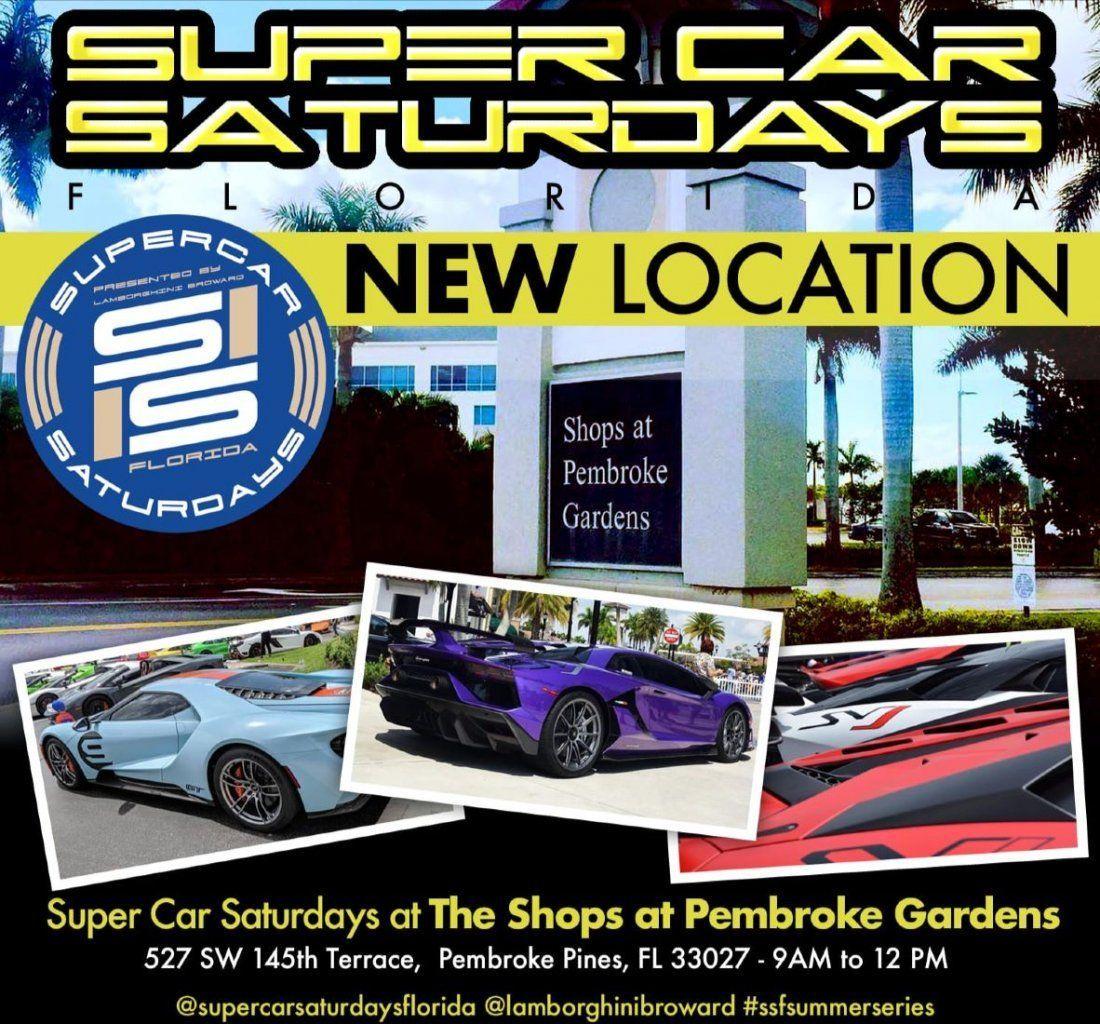 Supercar Saturdays Florida Exotics On Las Olas Weekend 11 9 10 Super Cars Cardboard Boat Race Florida