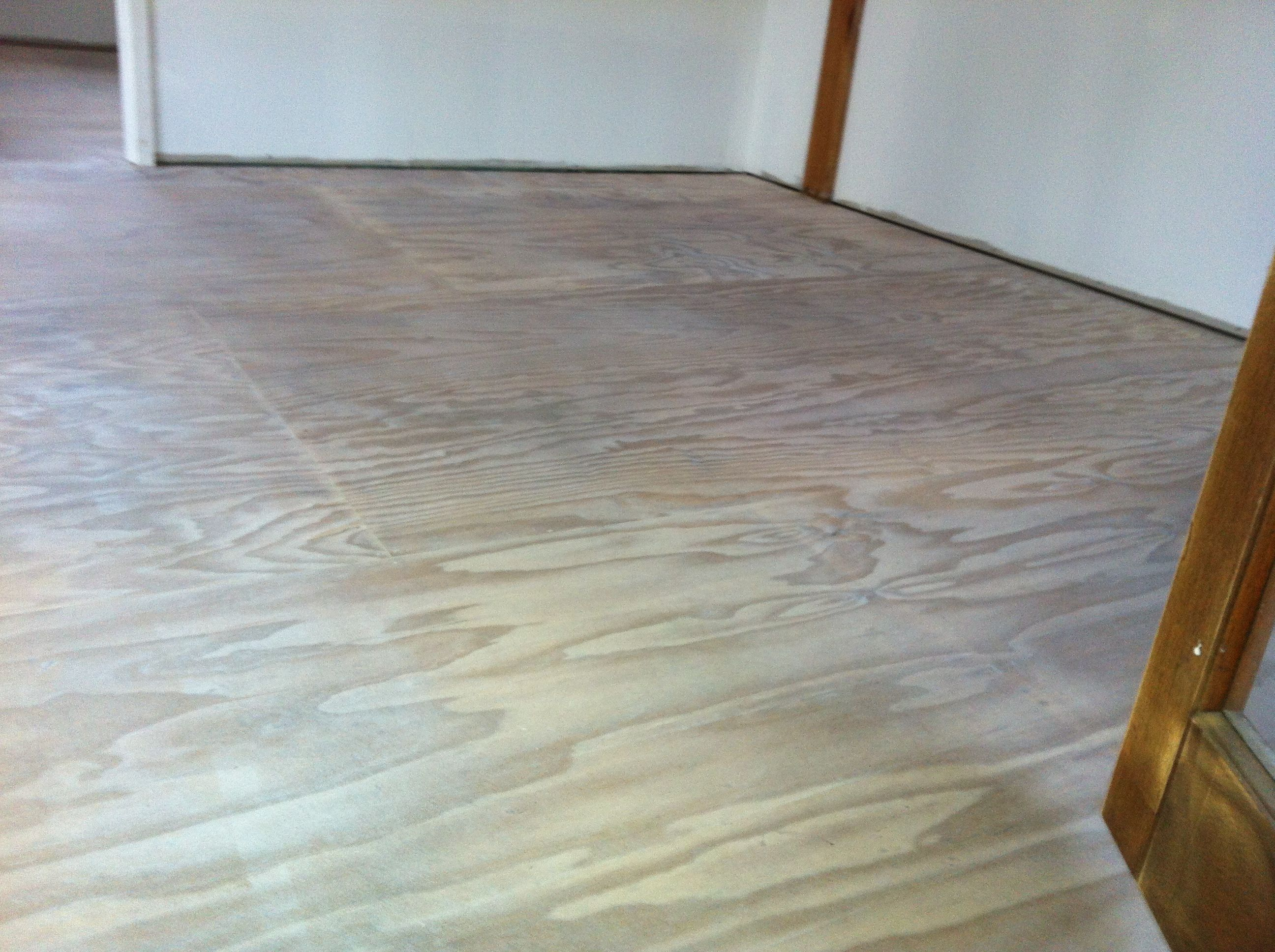 Whole Sheet Ply Floor For Staining Cricklewood Library