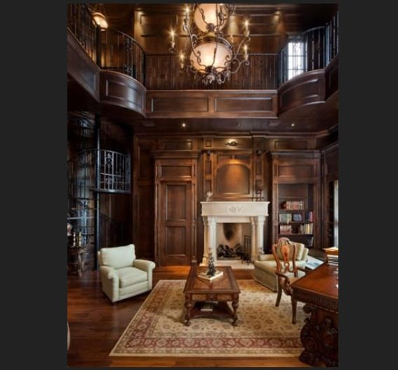 Victorian Library Room: Ravenclaw Common Room Rendition