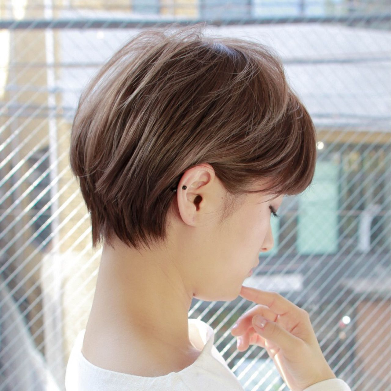Photo of HAIR (hair) is a hair style that stylist models send.