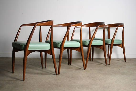 RARE Lawrence Peabody Dining Chairs - A Set of 4 | Post ...
