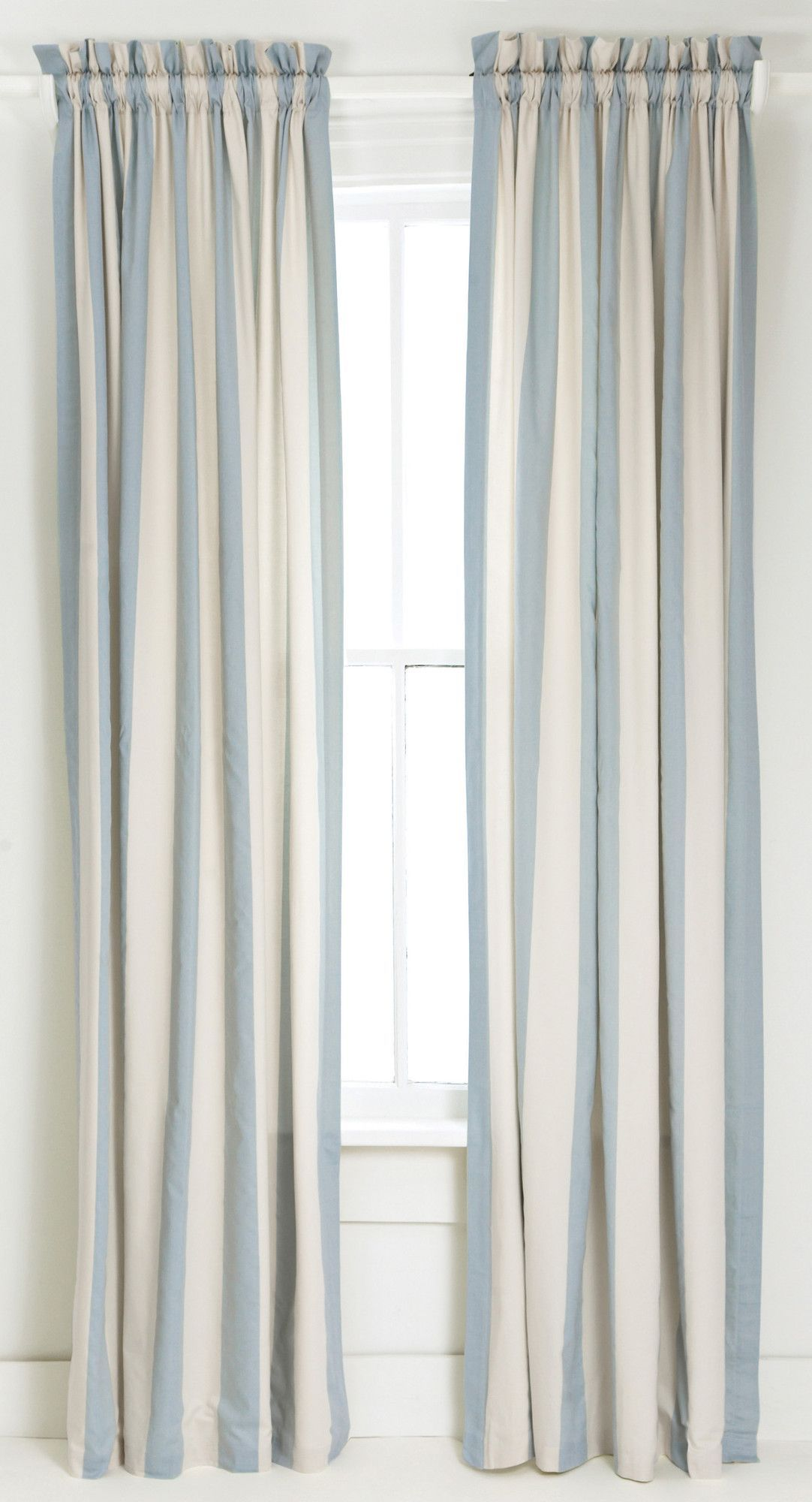 Madeline Stripe Curtain Single Panel Striped Curtains Stripe Curtains Living Room Blue Striped Curtains
