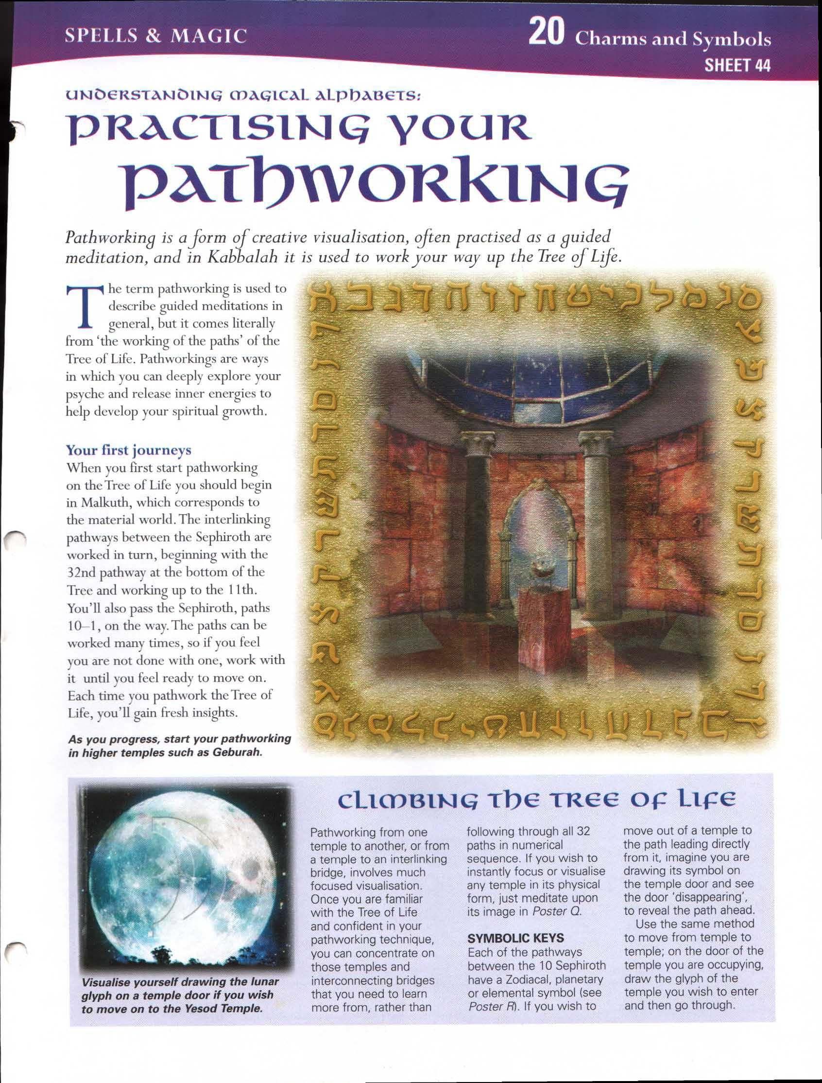 Understanding Magickal Alphabets: Practicing Your Pathworking   My