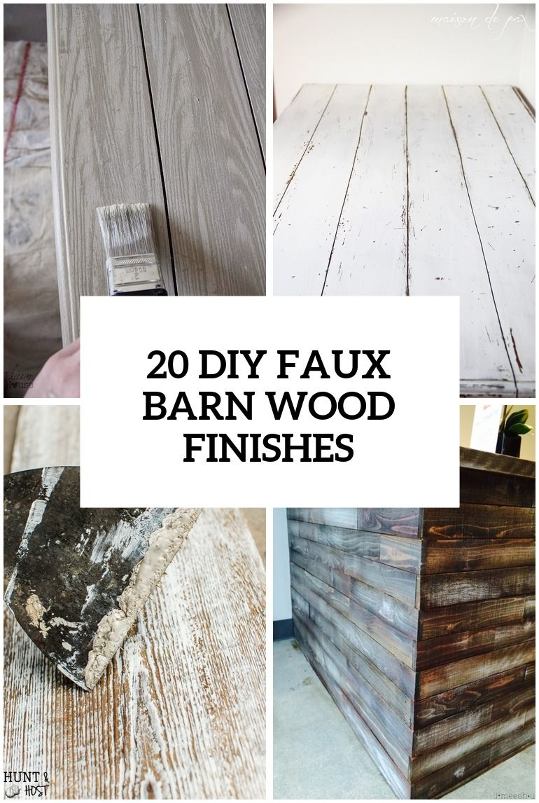 type of furniture wood. 20 DIY Faux Barn Wood Finishes For Any Type Of Furniture E