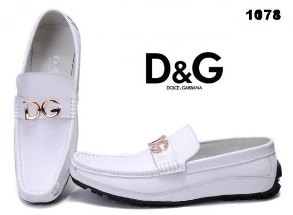 dbc970697b23 Dolce and Gabbana DRESS WHITE Shoes for Men