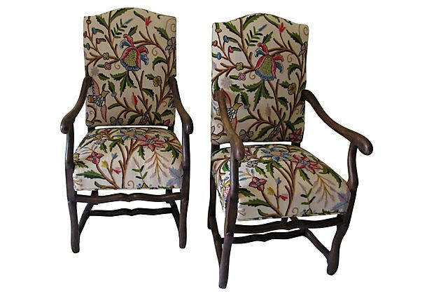French Os de Mouton Chairs, Pair on OneKingsLane.com