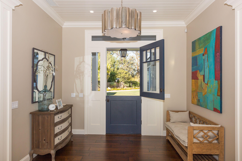 Dutch Door | Beige walls, Glass front cabinets