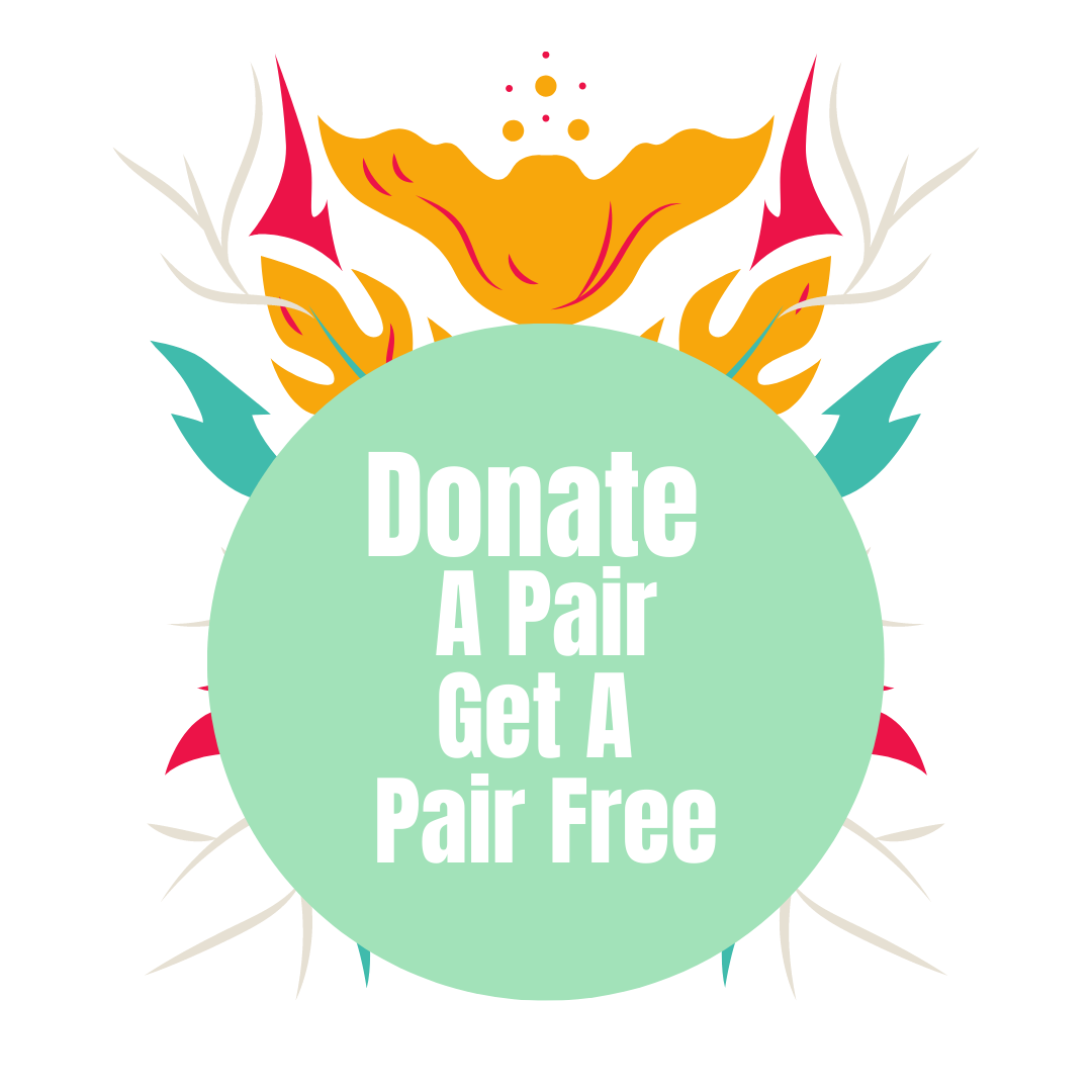 Donate a Pair of Reading Glasses Get One Pair Free (With