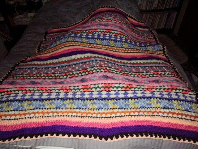 Crochet blanket by  Priya Agarwal