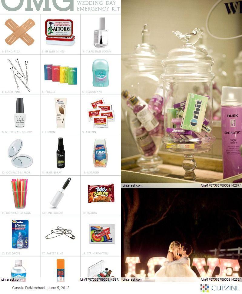 Wedding Bathroom Basket Ideas: Emergency Items For The Bathrooms During The Wedding Reception