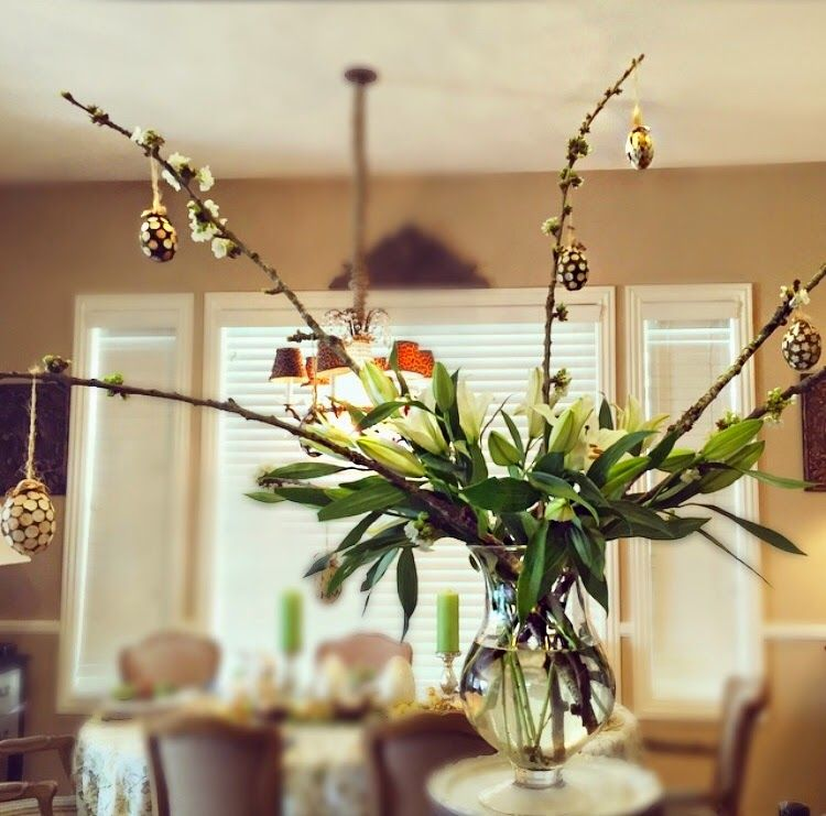 Mindy Laven Interiors: Easter Centerpiece