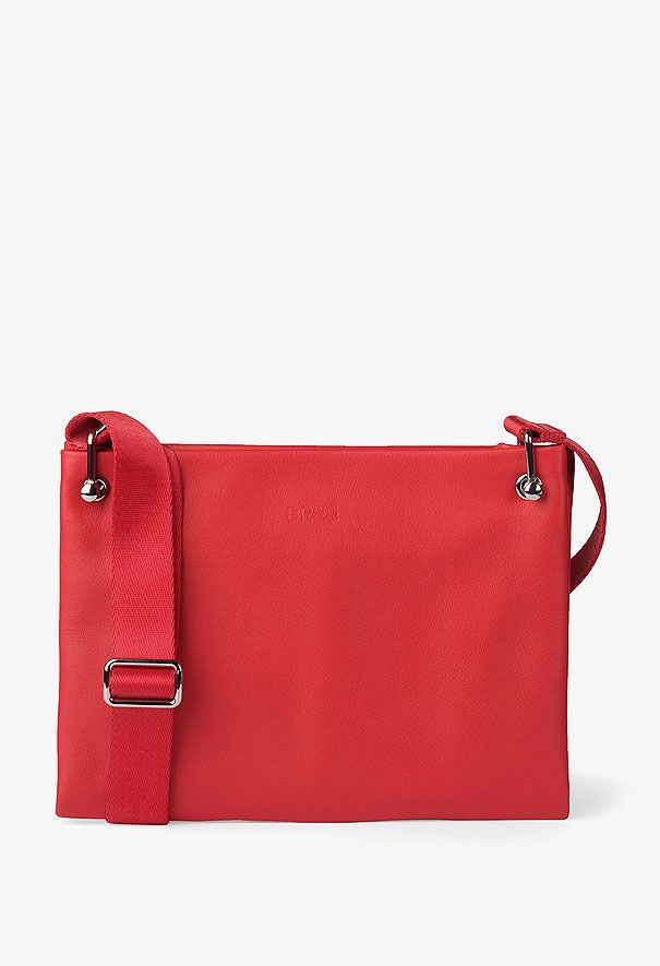 BREE   Lille 1 MC - lipstick red - Cowhide Leather smooth