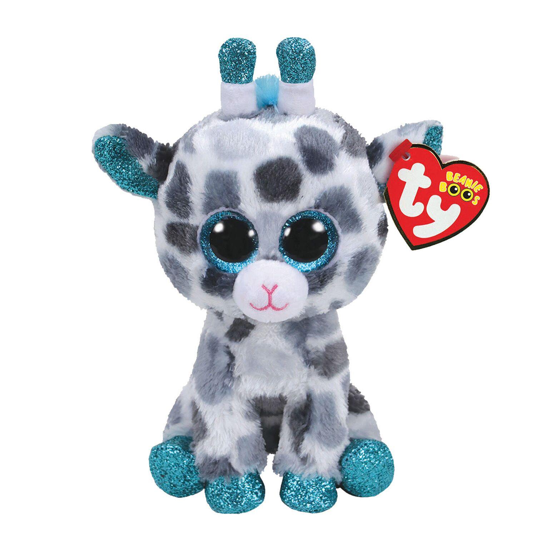 Claire's Ty Beanie Boo Medium Gia the Giraffe Plush Toy