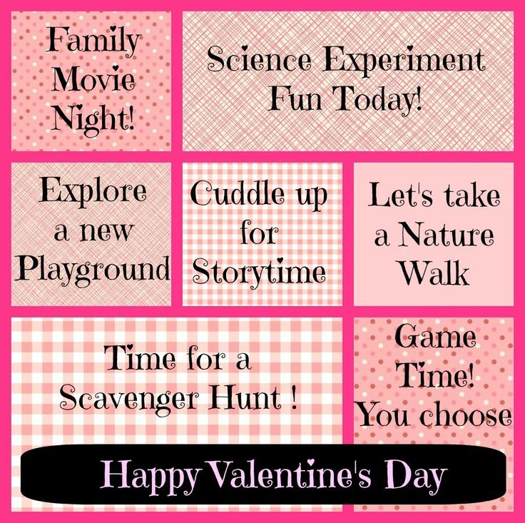 valentine day ideas for kids {free printable activity coupons, Ideas