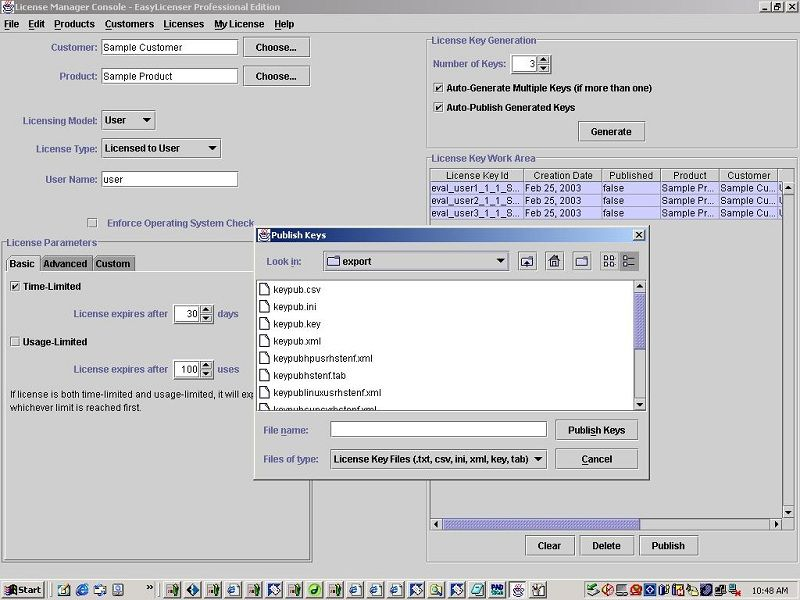 Easylicenser is a simple lowcost and powerful software