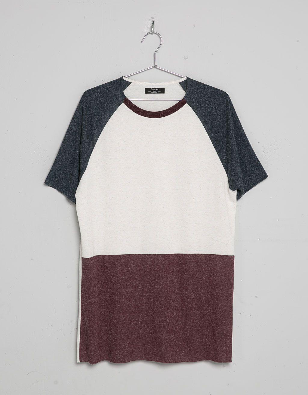 T-shirt cores combinadas - T-shirts - Bershka Portugal