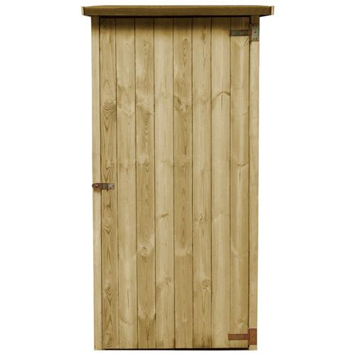 Garden Tools Shed in Impregnated Pine 88x76x175 cm