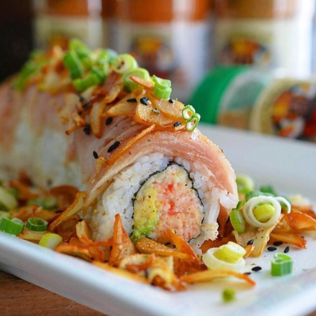 Flavorgod Seasonings On Instagram Flavorgod Roasted Garlic Albacore Roll Who S In The Mood For Sushi I Definite Roasted Garlic Asian Recipes Sushi Recipes