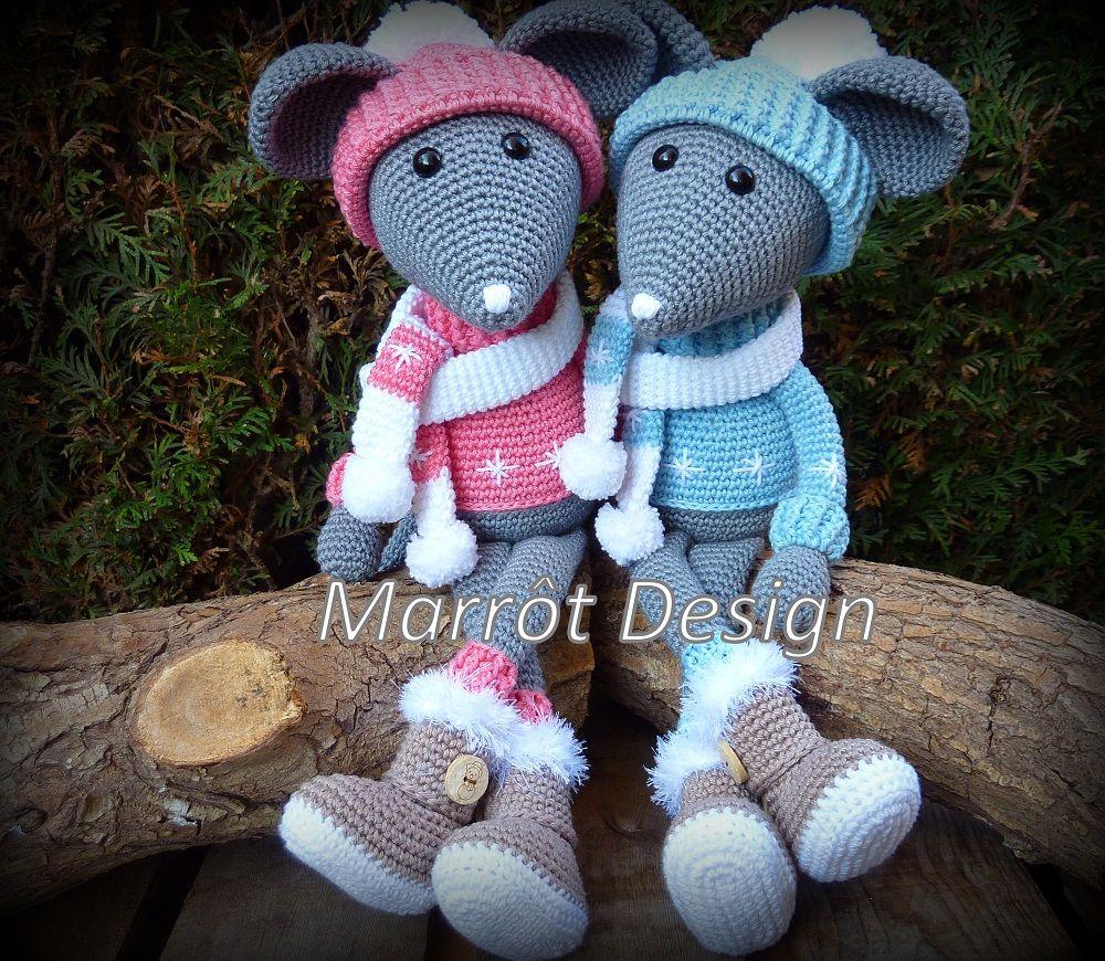 Marrot Design - Muis Fiebie | Lovely crochet | Pinterest | Häckeln ...