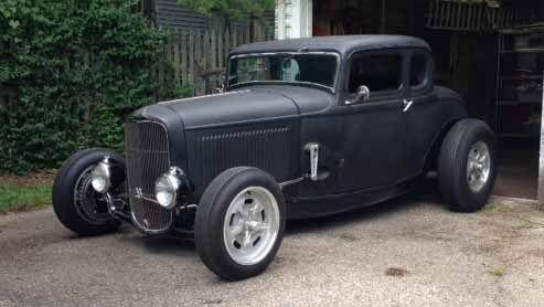 1932 Ford 5 Window Coupe Bonneville Hot Rod for sale & 1932 Ford 5 Window Coupe Bonneville Hot Rod | Hot rods for sale ... markmcfarlin.com