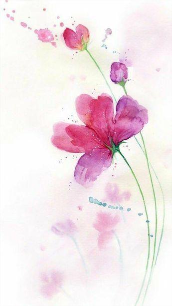 Lucia Aresi artista Acquerello su carta satinata