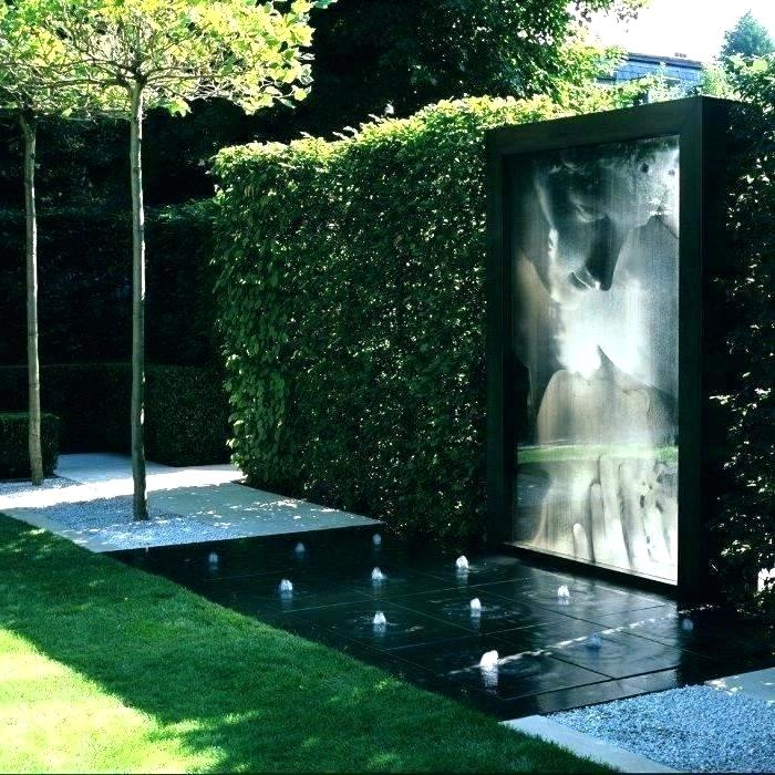Marvelous Modern Water Features For Small Gardens Contemporary 8