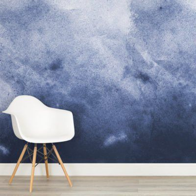 purple grunge paint watercolour design square 1 wall murals