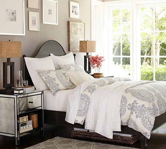 Alameda Bed Headboard Pottery Barn Bedroom Furniture For