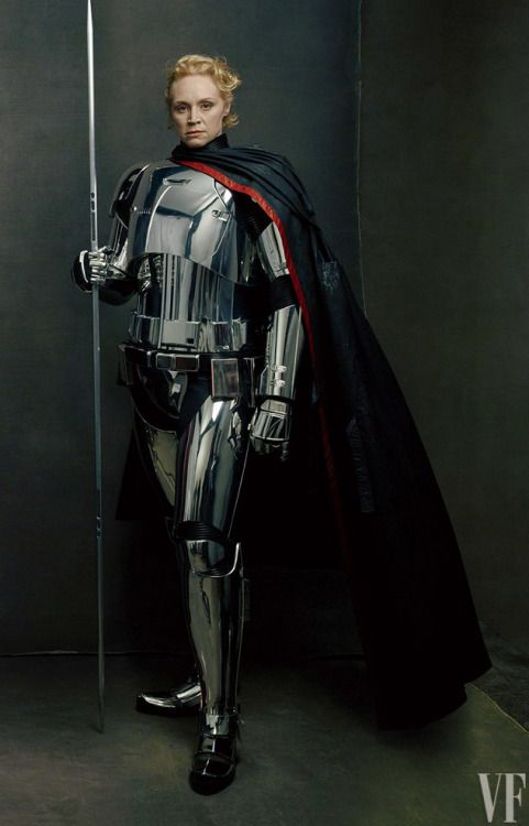 Gwendoline Christie As Captain Phasma Star Wars The Last Jedi Photo