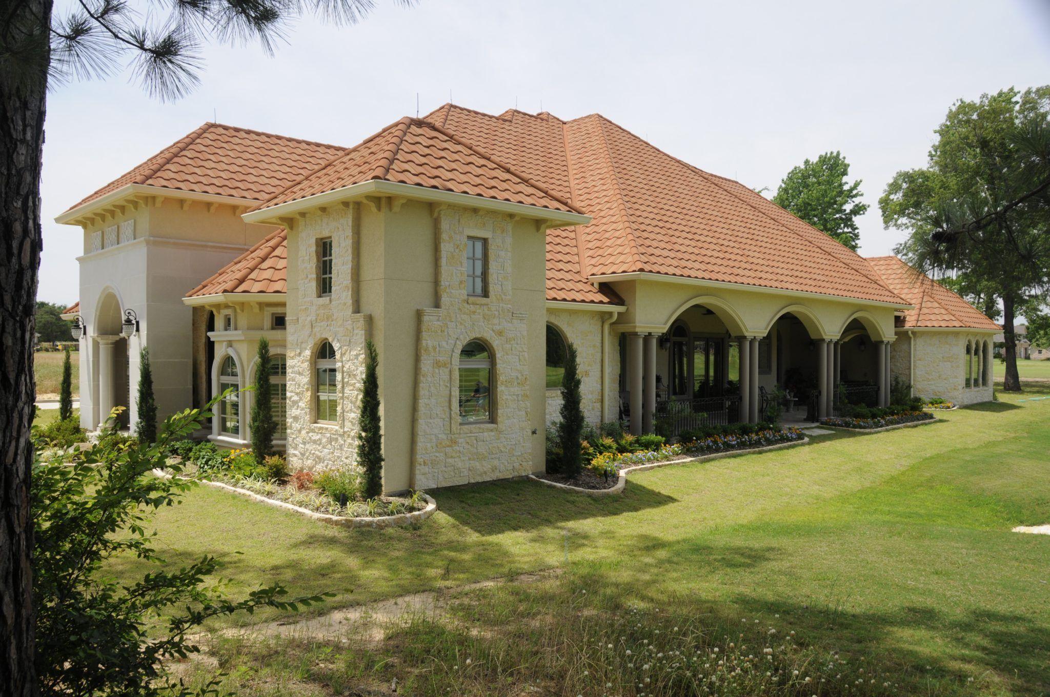The White Home was custom designed by Bayless Custom Homes in Tyler ...