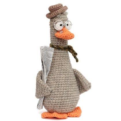 Free Crochet Pattern Goose