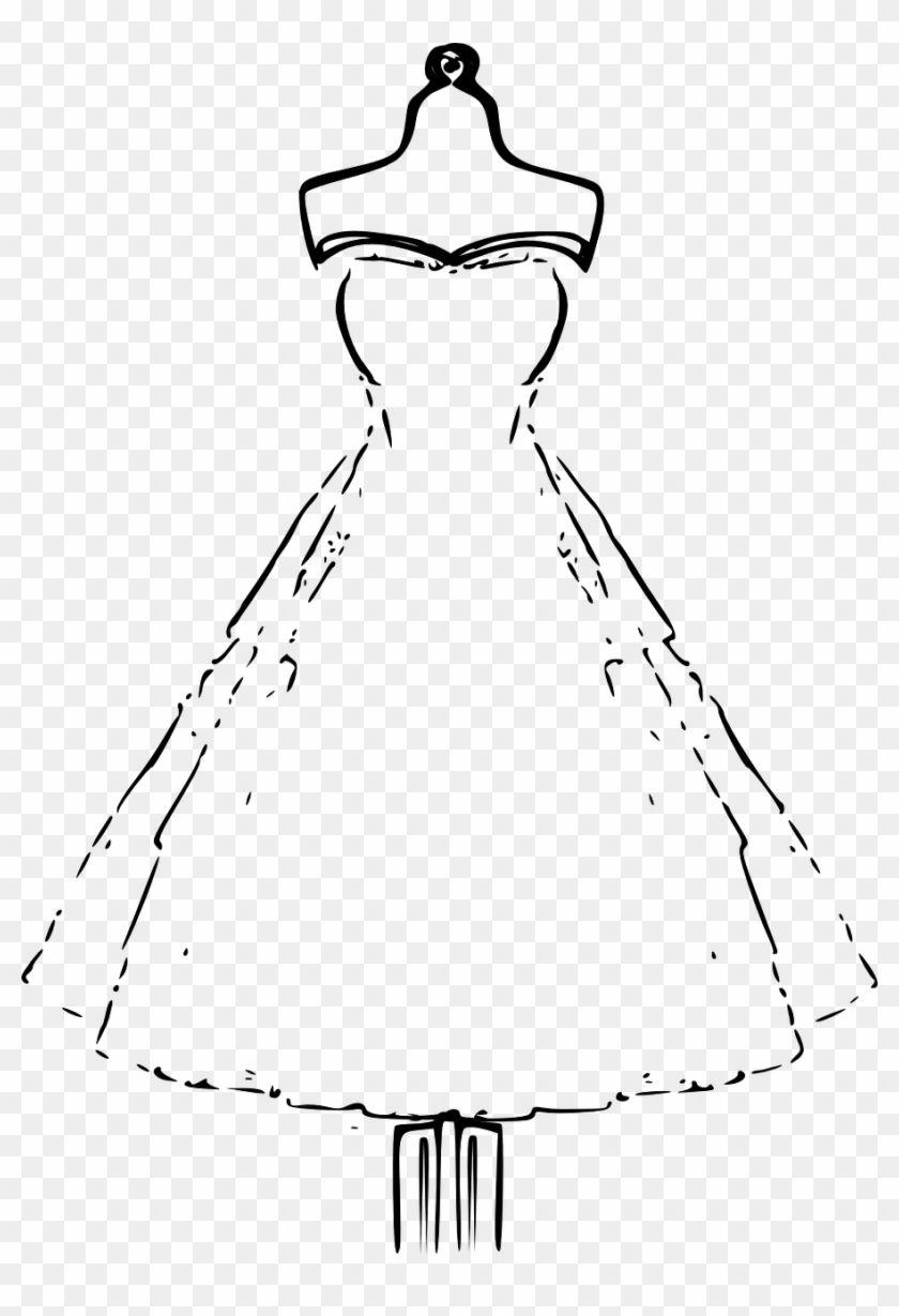 Wedding Dress Clipart Ideas Dress Clipart Wedding Dress Drawings Wedding Dress Template