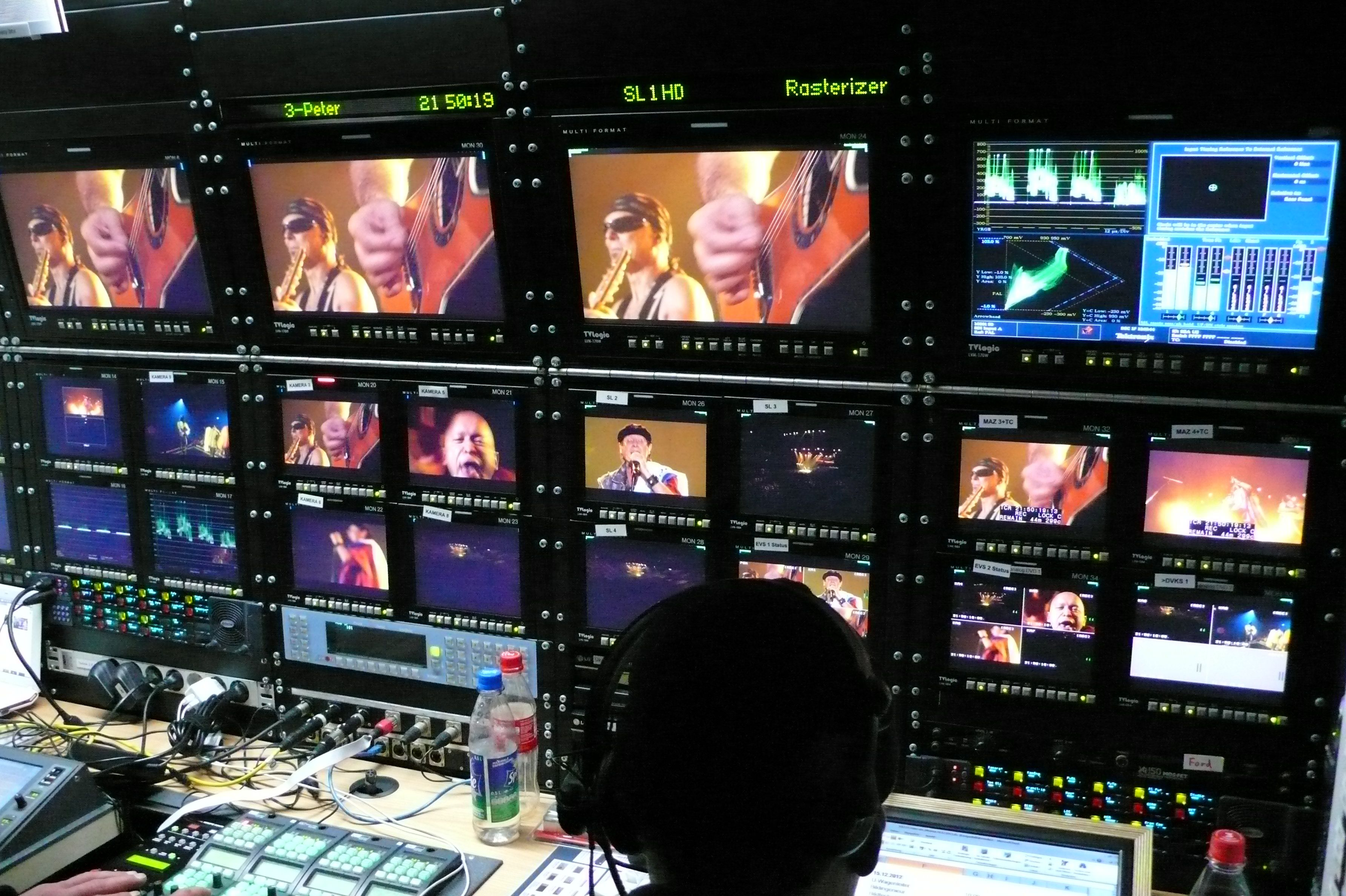 Deutsche Welle OB van OB Van Broadcast
