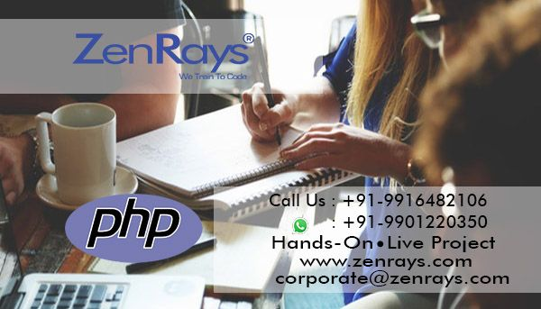 PHP, hands-on and live project training at #zenrays Never stop - what are technical skills
